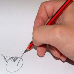 Чем выше должность, тем короче подпись