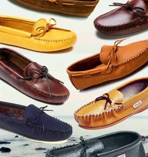 Обувь в стиле унисекс — мокасины