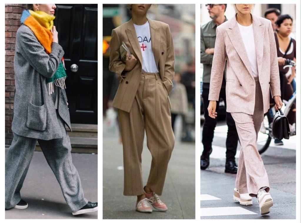 Кроссовки и кеды вместо высоких каблуков